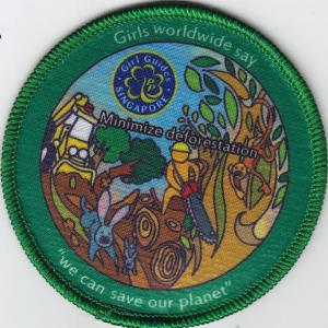 Girl Guides Singapore Badge